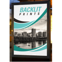 Печать на баннере Backlite (баклит - баннер на просвет)  за м2