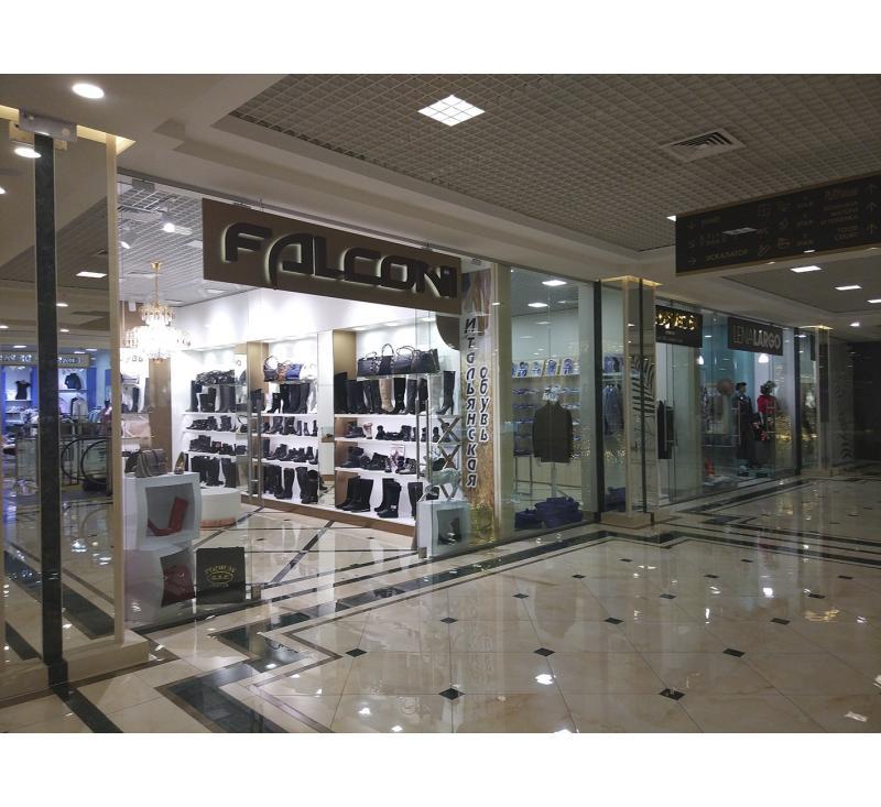 """Вывеска для магазина """"Falconi"""""""
