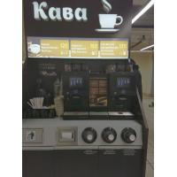 """Изготовление витрины для отдела """"Кофе"""""""