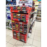 Рекламные торговые стойки для игрушек ТМ «АВТОСВІТ»