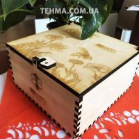 Изготовление подарочных ящиков для продукции BeeHappy