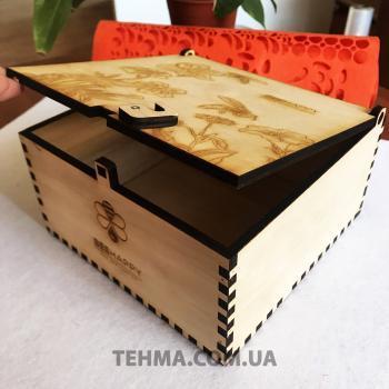 Изготовление подарочных ящиков с гравировкой для продукцииBeeHappyМы изготовляем по индивидуал..