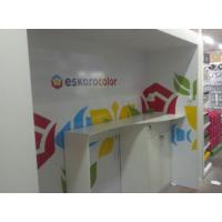 Рекламная конструкция для презентации продукции Eskaro