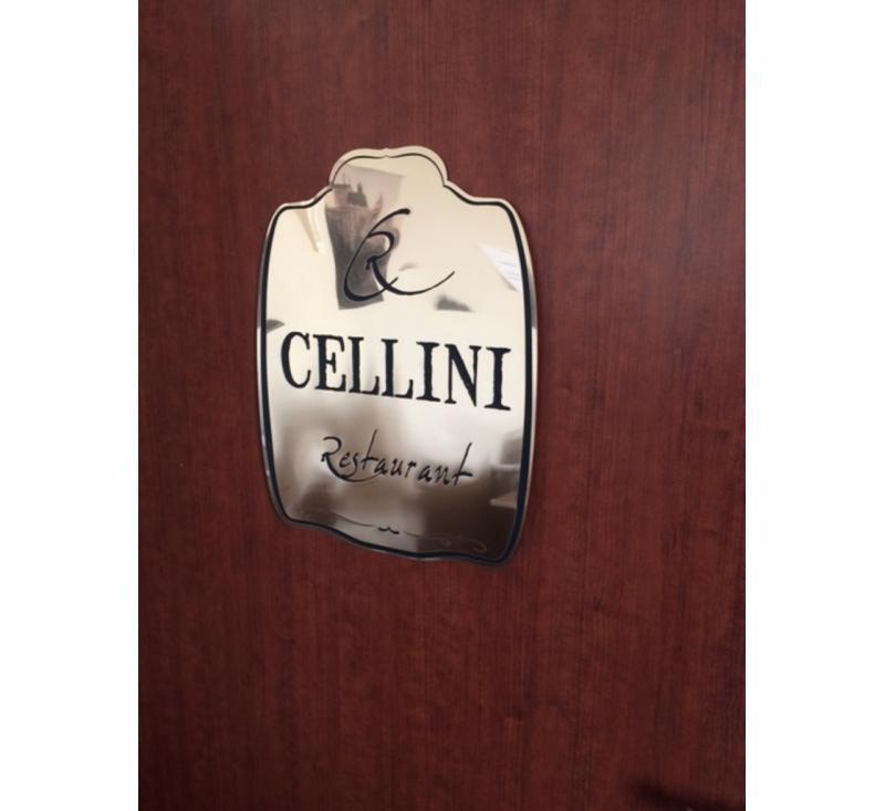 Табличка Cellini