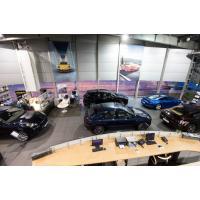 Банера в интерьере для автосалона Porsche Центр Одесса