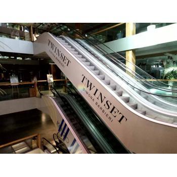 По заказу клиента были разработаны дизайн и макеты для оклейки эскалатора,и привлечения большего кол..