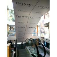 """Брендирование эскалатора для магазина """"TWINSET"""""""