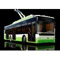 Реклама на троллейбусе