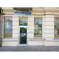 Объемные буквы на прозрачной основе для Mouzenidis travel