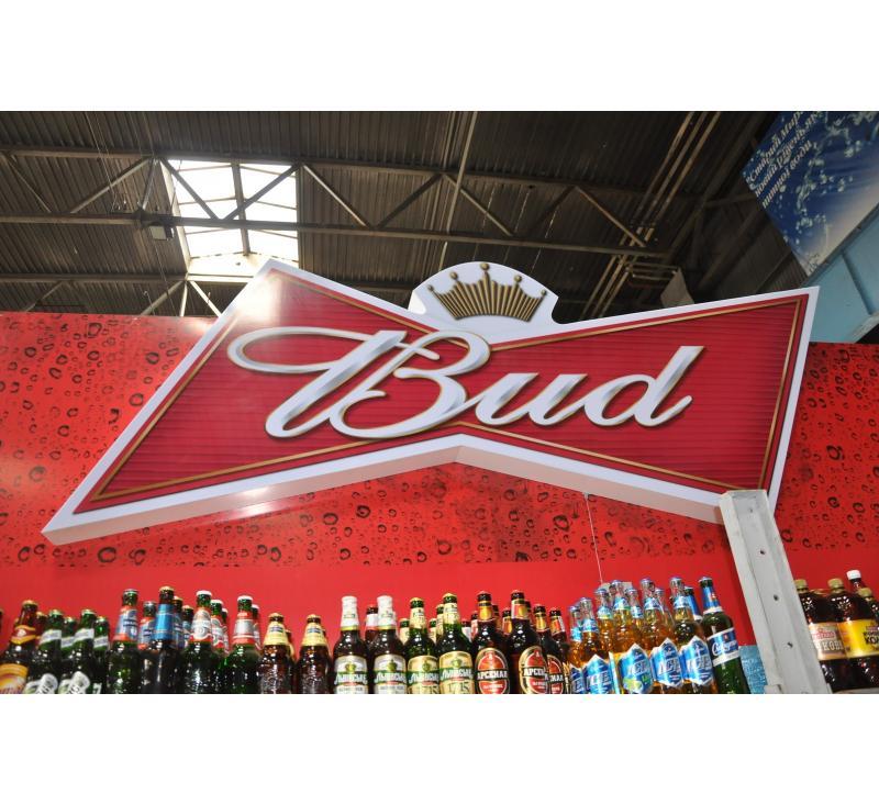 Интерьерное оформление для  Bud