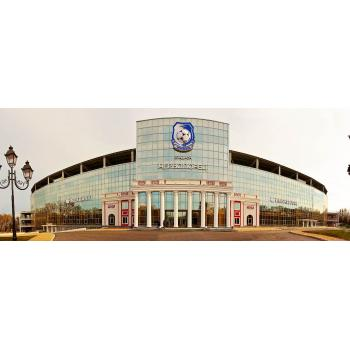 Габаритная вывеска в виде объемного логотипа ФК