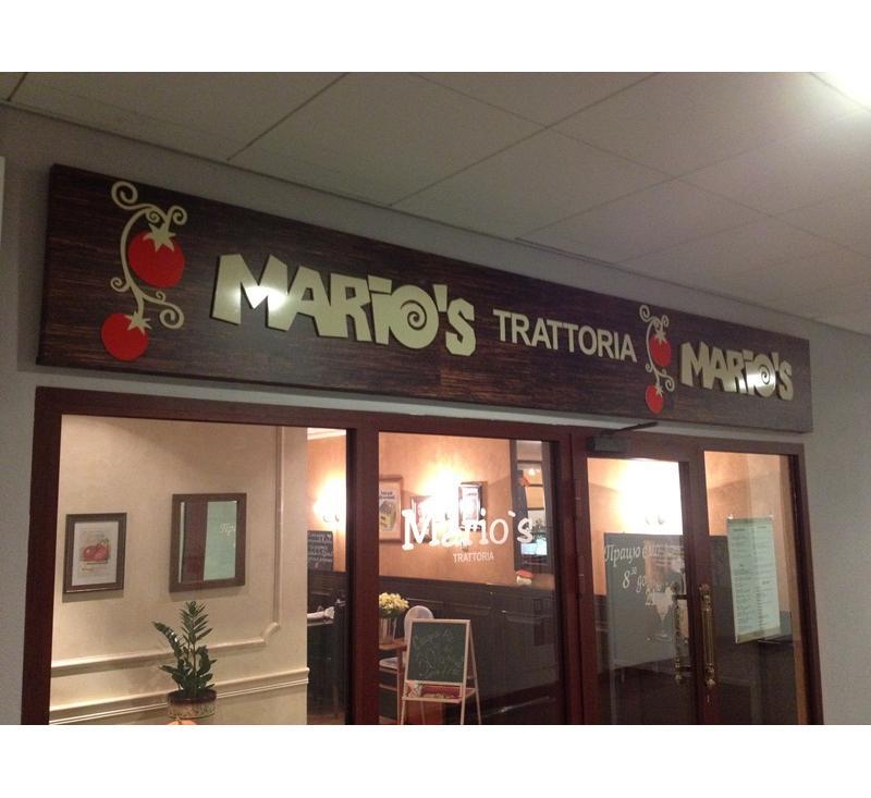 Оригинальная композитная реклама для Марио
