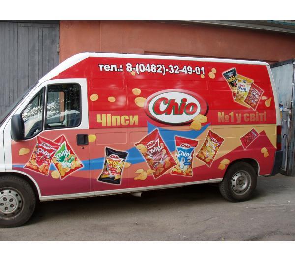 Оклейка транспорта для Chio