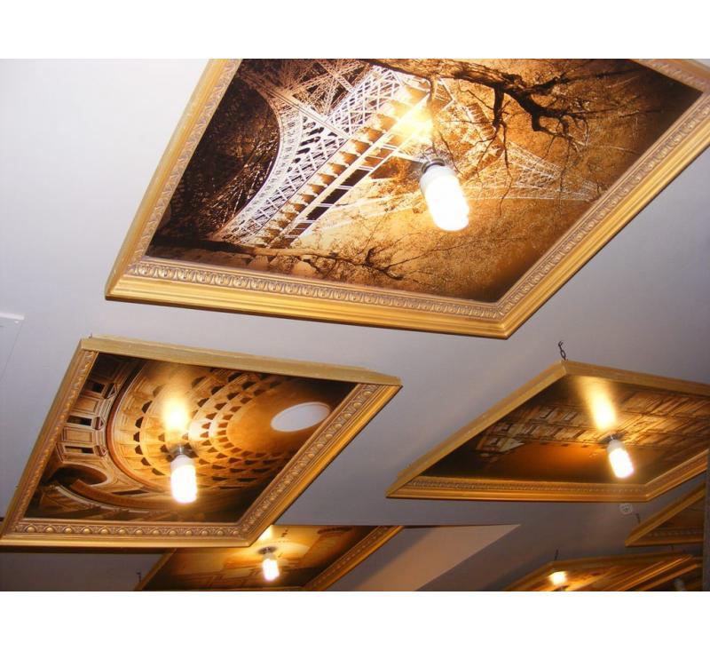 Оформление Окна картинами ресторана Рататуй