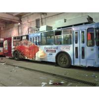 Реклама на троллейбусе для Торчин