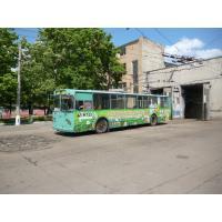 Реклама на троллейбусе для Vikra